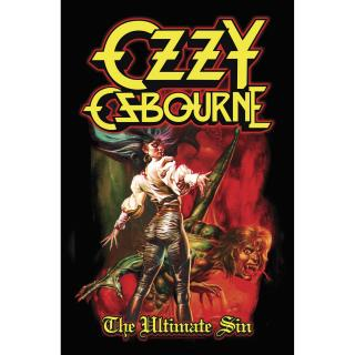 Ozzy Osbourne - The Ultimate Sin Posterflagge