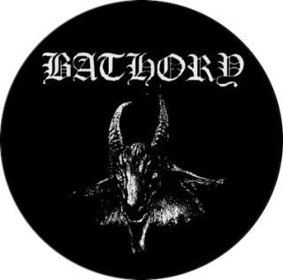 Bathory - Goat Button -