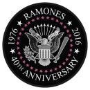 Ramones - 40th Anniversary Seal Patch Aufnäher