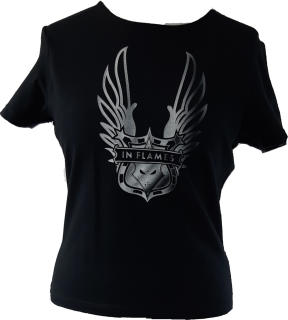 In Flames - Wings Damen Shirt Shirt ? Gr. L
