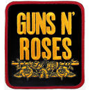Guns And Roses - Stacked Black Patch Aufnäher
