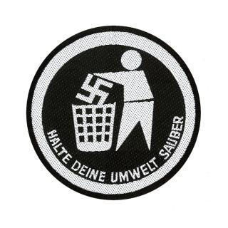 Generic - Halte deine Umwelt Sauber Patch Aufnäher