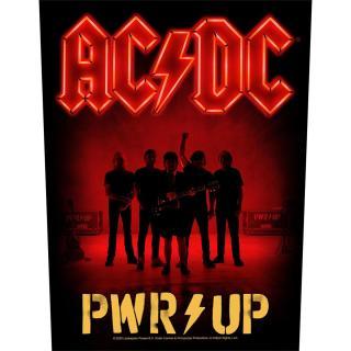AC/DC - PWR Up Band Backpatch Rückenaufnäher