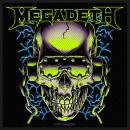 Megadeth - VIC Rattlehead Green Patch Aufnäher
