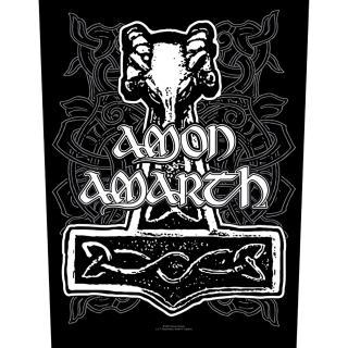 Amon Amarth - Thors Hammer Backpatch -  Rückenaufnäher