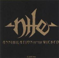 Nile - Annihilation Of The Wicked Sticker