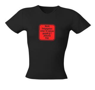 Fun - FSK 18 Damen Shirt Gr. L Film Horror