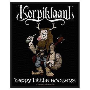 Korpiklaani - Happy Little Boozers Patch Aufnäher