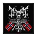 Mayhem - Coat Of Arms Patch Aufnäher