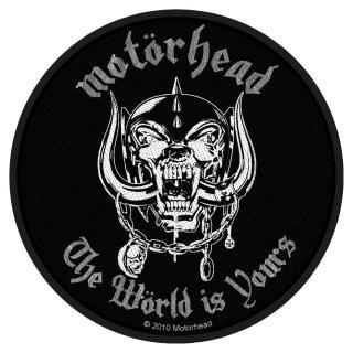 Motörhead - The Wörld Is Your Patch Aufnäher