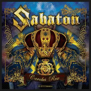 Sabaton - Carolus Rex Patch Aufnäher