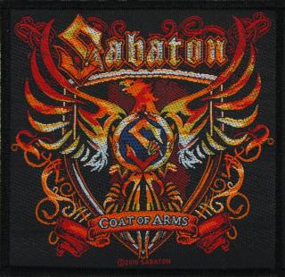 Sabaton - Coat Of Arms Patch Aufnäher