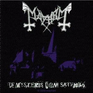 Mayhem - De Mysteris Dom Sathanas Patch Aufnäher
