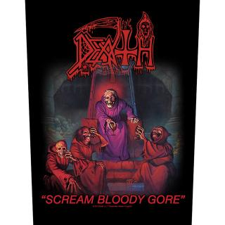 Death - Scream Bloody Gore Backpatch Rückenaufnäher