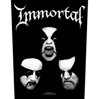 Immortal - Blashyrkh Backpatch Rückenaufnäher