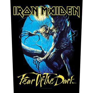 Iron Maiden - Fear Of The Dark Backpatch Rückenaufnäher