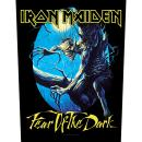 Iron Maiden - Fear Of The Dark Backpatch Rückenaufnäher