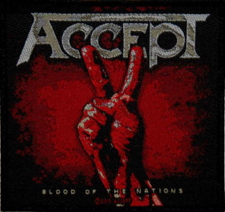 Accept - Blood Of The Nations Patch Aufnäher