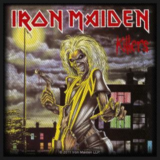Iron Maiden - Killers Album Patch Aufnäher