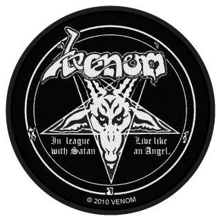 Venom - In League With Satan Patch Aufnäher