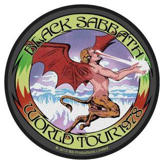 Black Sabbath - World Tour Patch Aufnäher