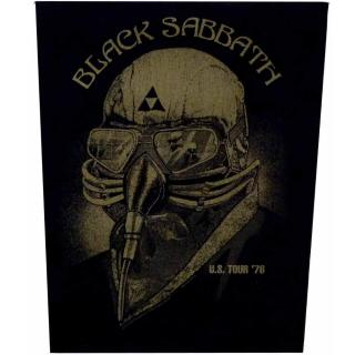 Black Sabbath - US Tour 78 Backpatch Rückenaufnäher