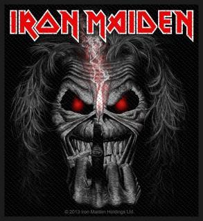 Iron Maiden - Candle Finger Eddie Patch Aufnäher