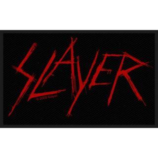 Slayer - Scratched Logo Patch Aufnäher