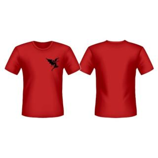 Heaven And Hell - Flying Devil Red T-Shirt