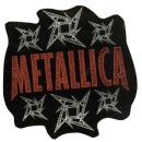 Metallica - Logo Stars Sticker/Aufkleber