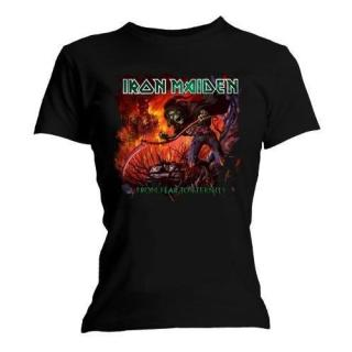 Iron Maiden - Fear To Eternity Damen Shirt Gr. L