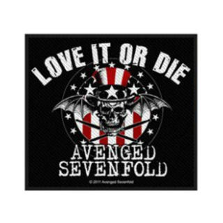 Avenged Sevenfold - Love It Or Die Patch Aufnäher