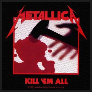 Metallica - Kill Em All Patch Aufnäher