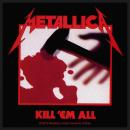 Metallica - Kill Em All Patch Aufnäher