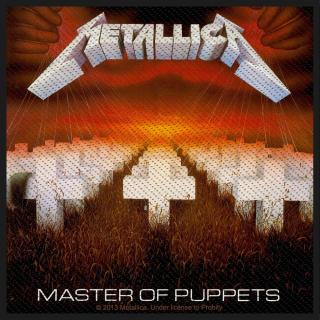 Metallica - Master Of Puppets Patch Aufnäher