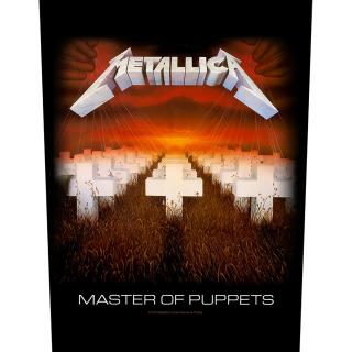 Metallica - Master Of Puppets Backpatch Rückenaufnäher