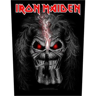 Iron Maiden - Eddie Candle Finger Backpatch Rückenaufnäher