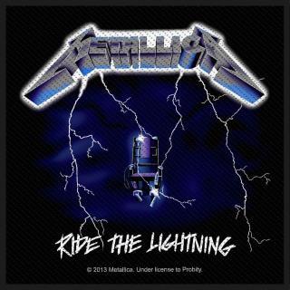 Metallica - Ride The Lightning Patch Aufnäher