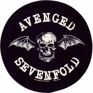 Avenged Sevenfold - Death Bat Backpatch Rückenaufnäher