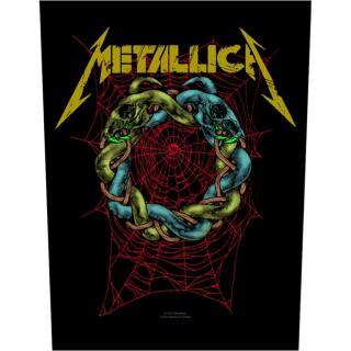 Metallica - Tangled Web Backpatch Rückenaufnäher