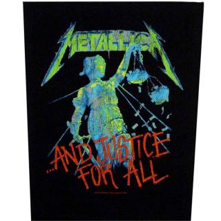 Metallica - And Justice For All Backpatch Rückenaufnäher