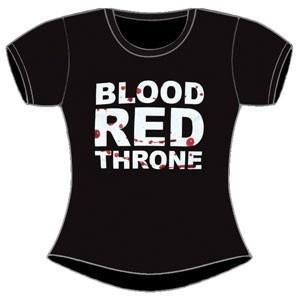Blood Red Throne - Logo Damen Shirt Gr. L