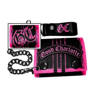 Good Charlotte - Pink Logo Geldbörse