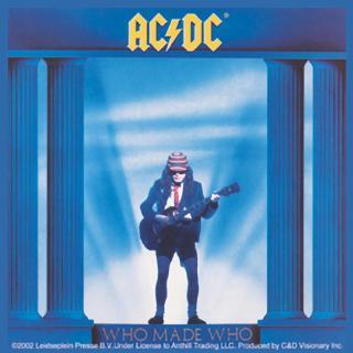 AC/DC - Who Made Who Sticker Aufkleber
