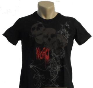 Korn - Skulls Damen Shirt Gr. L