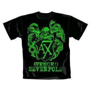 Avenged Sevenfold - Green Crest T-Shirt