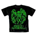 Avenged Sevenfold - Green Crest T-Shirt