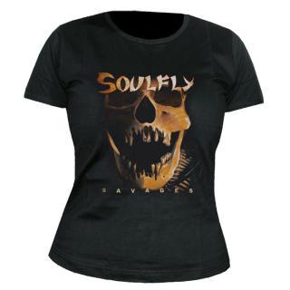 Soulfly - Savages Damen Shirt Gr. L