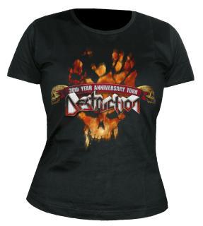 Destruction - 30 Years Of Metal Damen-Shirt Gr. XL