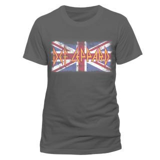 Def Leppard - Union Jack T-Shirt